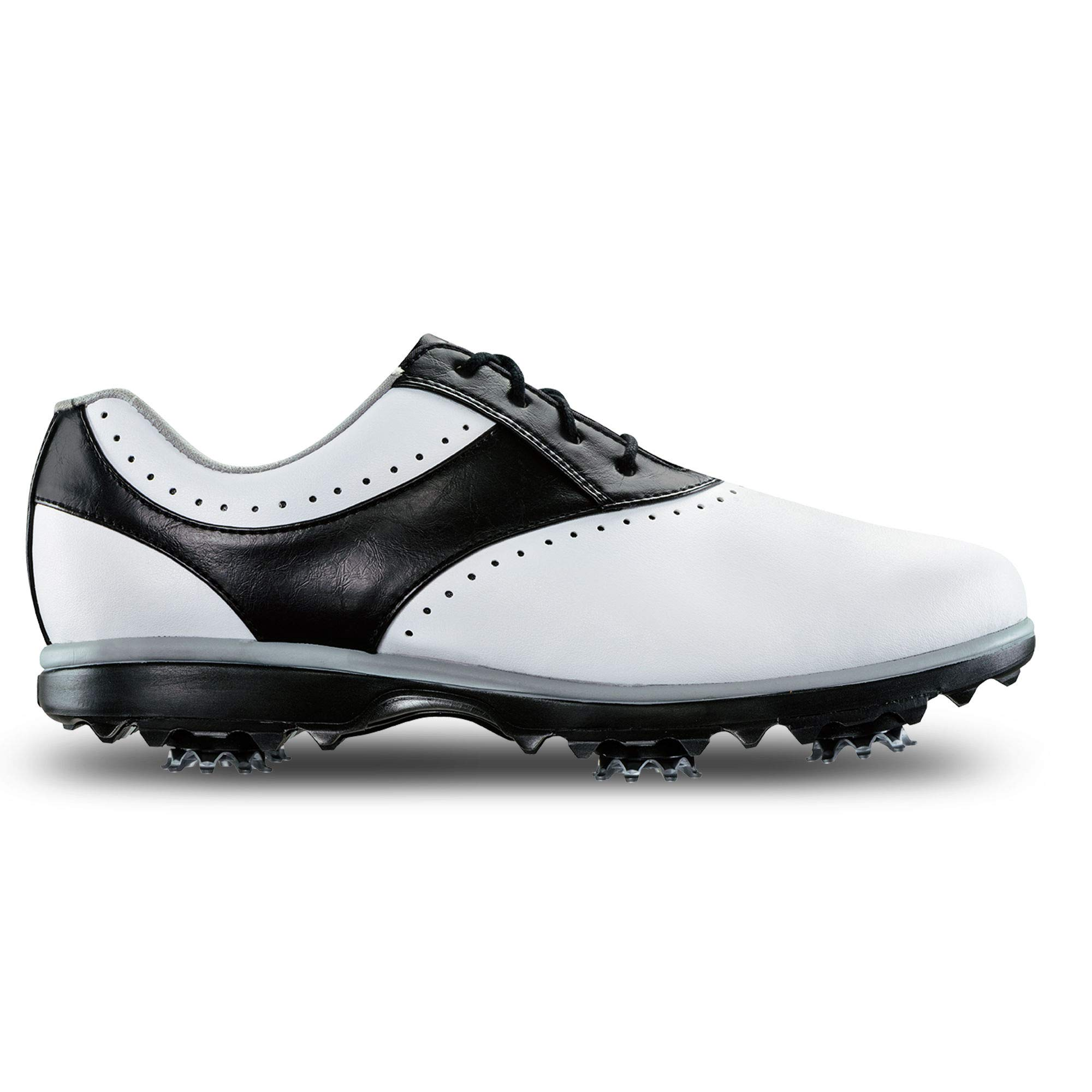 FootJoy Women's Emerge-Previous Season Style Golf Shoes White 7 M Black, US by FootJoy