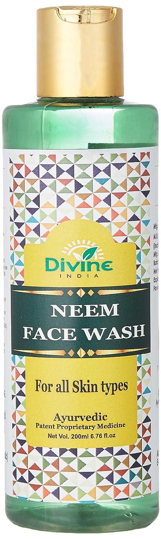 Divine India Ayurevda Neem Face Wash, 200 Ml
