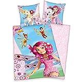 Herding 4400062050 Parure de Lit pour Enfants avec Imprimé Mia & Me en Coton Multicolore 135 x 200 cm