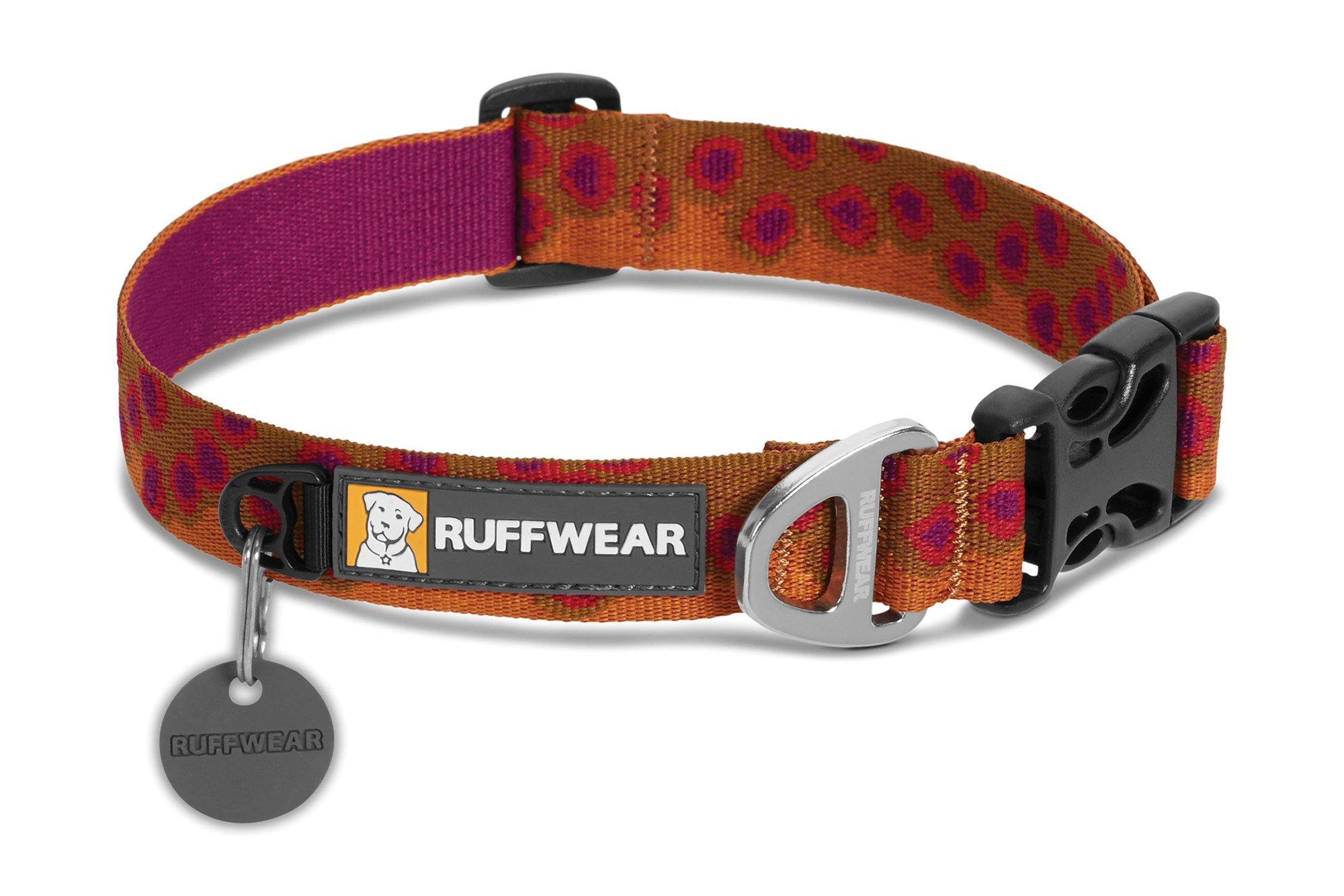 RUFFWEAR - Hoopie Dog Collar, Brook Trout, Medium