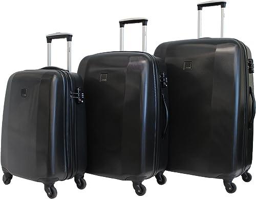 TITAN Hardshell 3 Piece Spinner TSA Combination Lock Luggage Set