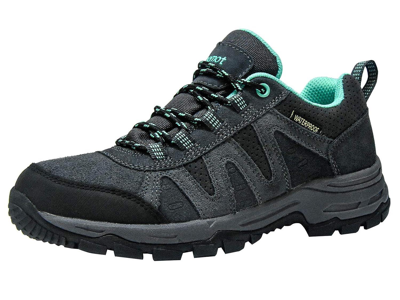 Riemot Damen Trekking-& Wanderhalbschuhe Wasserdicht Outdoor Hiking Trailrunning Schuhe
