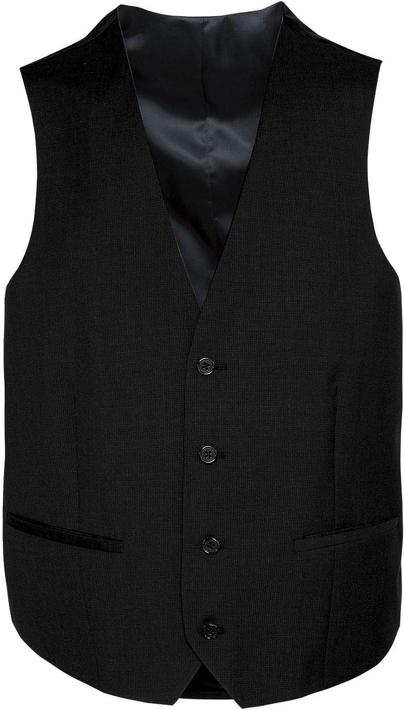 Freenamik Herren Weste in Blau Spencer Michaelax-Fashion-Trade Travel Fit Anthrazit oder Schwarz 1624 00, Modell: 242001