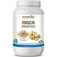 Maca Orgánica en polvo 90 Capsulas SuperVida Nutrition