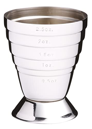 Barcraft Stainless Steel Jigger (spirit measuring cup)