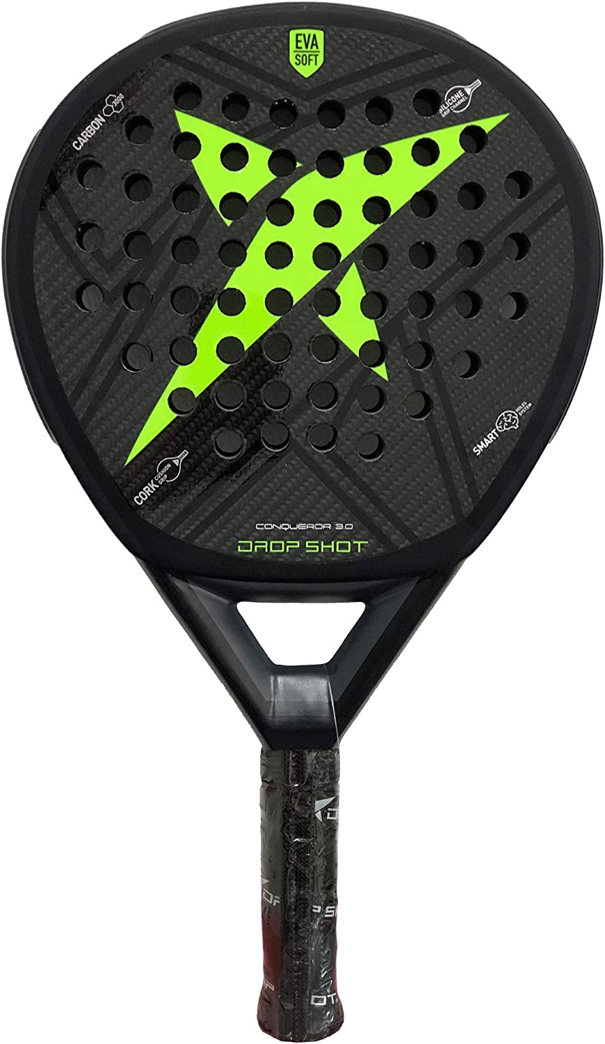 DROP SHOT Conqueror 3.0 Black LTD: Amazon.es: Deportes y aire libre