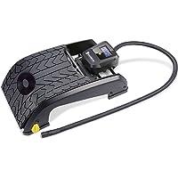 Michelin 92421 Fussluftpumpe, 2 Zylinder mit Digitalanzeige