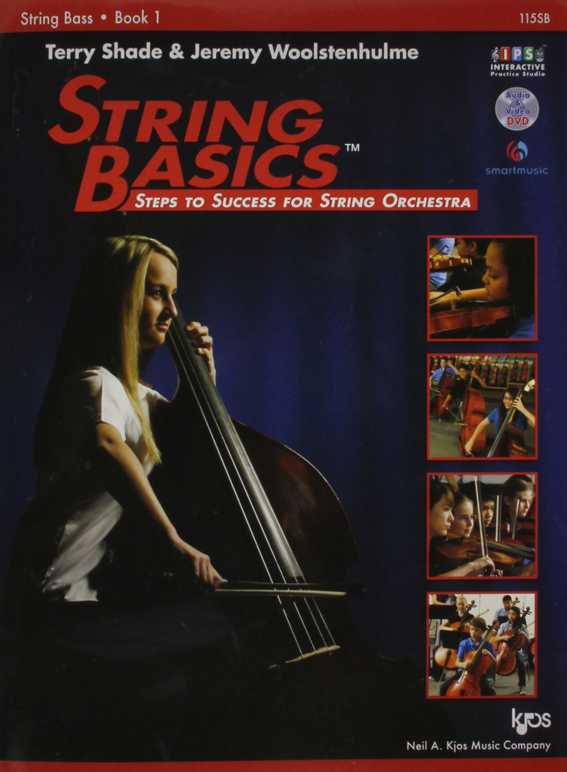 Terry Shade/Jeremy Woolstenhulme: String Basics - Book 1: String Bass Paperback – May 17 2011 Kjos (Neil A.) Music Co U.S. 084973486X 115SB
