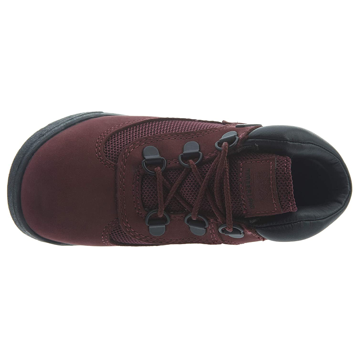8 C US Timberland Field Boots Toddlers Style TB0A1ATT-Burgundy Size
