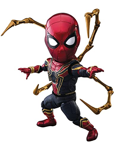 Beast Kingdom Avengers Infinity War Egg Attack Action Eaa 060 Iron Spider Action Figure