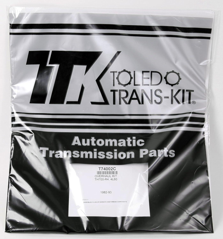700R4 4L60 OVERHAUL GASKET & SEAL REBUILDER KIT 1982-1993 GM CHEVY Toledo Trans Kit