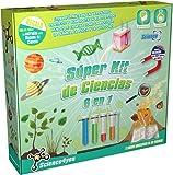 Science4you Súper kit de ciencias 6 en 1
