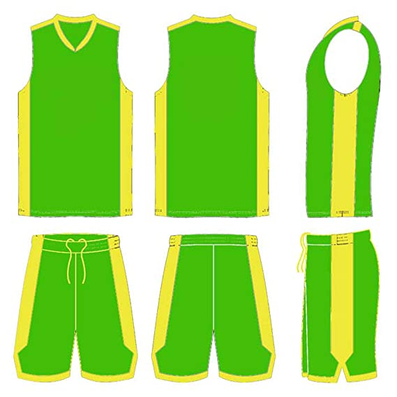 Winning Beast Lot of 20 Basketball Uniforms Style 514 in Your Team Colors  and Customized with Your Team Name and Numbers (Main Color Green, A-XL -  Adult XLarge): Amazon.in: Clothing & Accessories