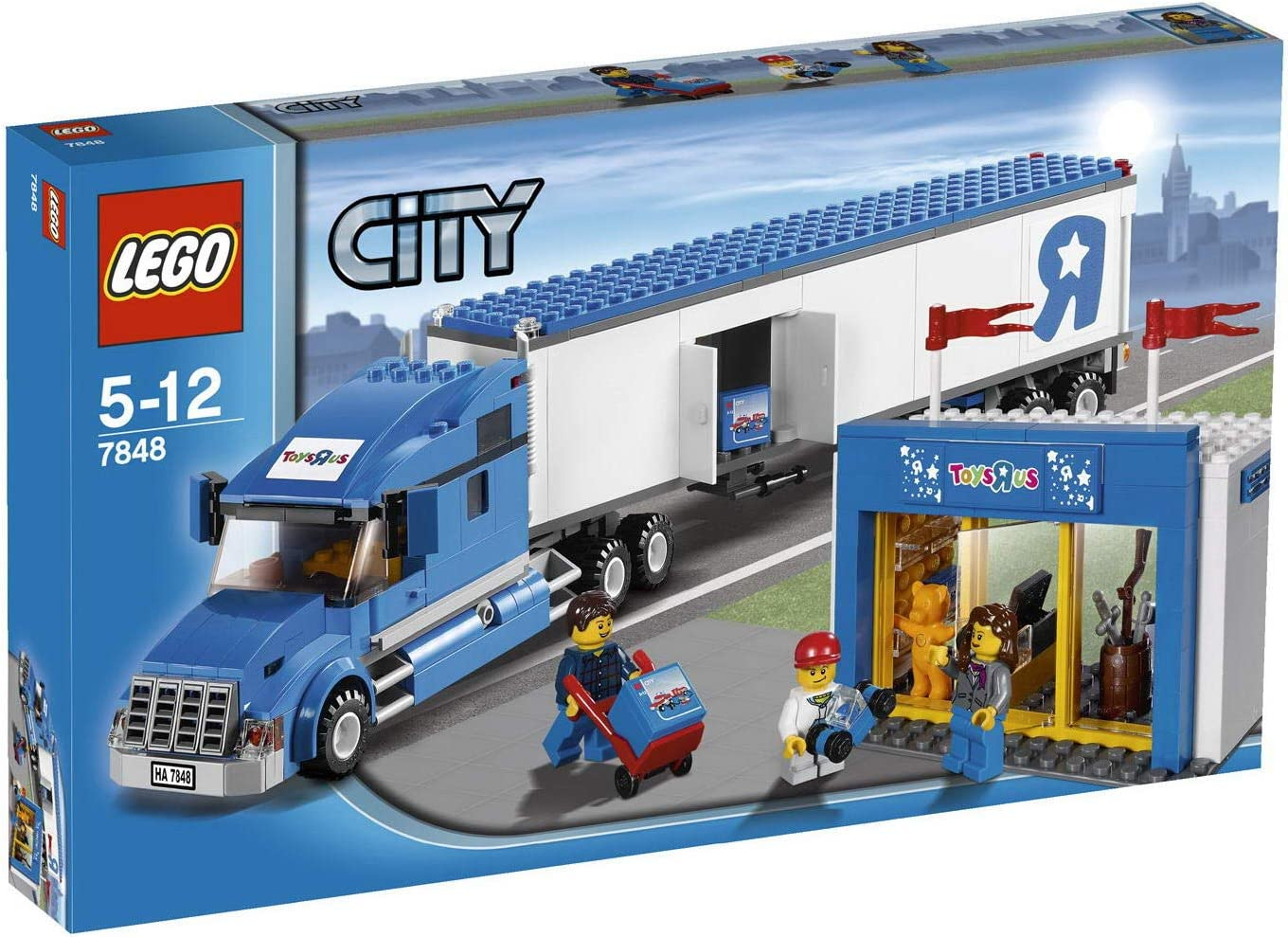 Amazon Com Lego City Toys R Us Truck 7848 Toys Games