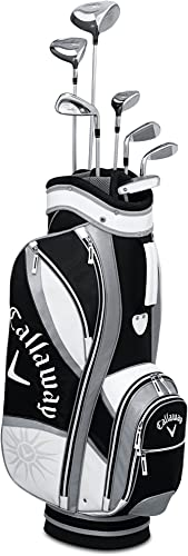 Callaway Women's Solaire Gems Amethyst Golf Club Complete Set 8-Piece