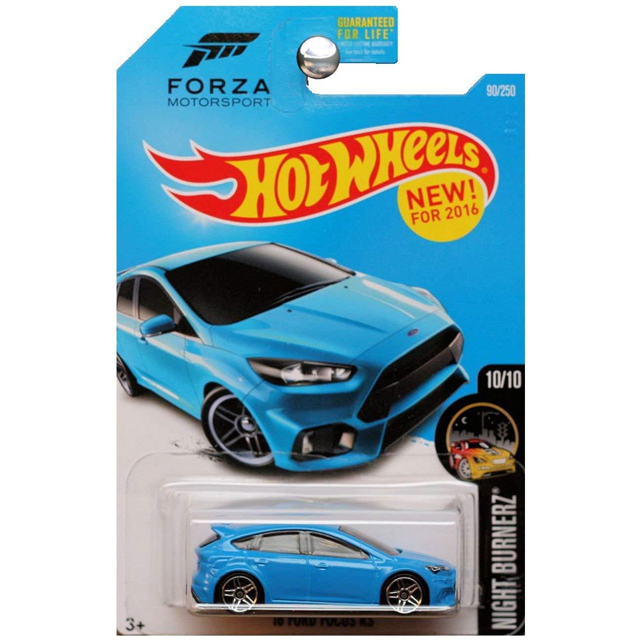 Hot Wheels, 2016 Night Burnerz, Forza Motorsport 16 Ford ...