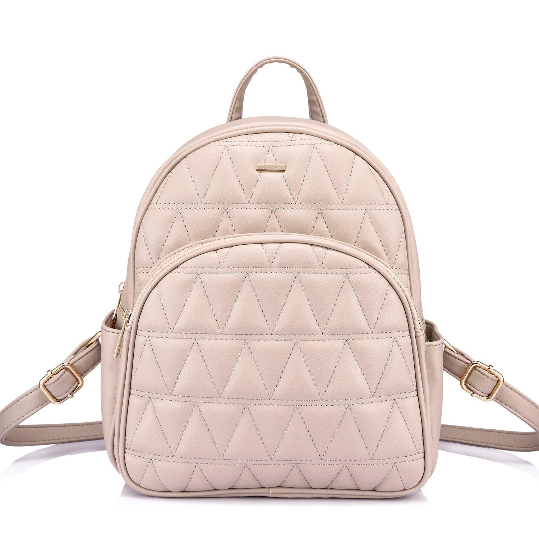 Backpack Purse Quilted Casual Backpacks Handbags for Women Shoulder Bag Coin bag 3 Pieces Set LK130911