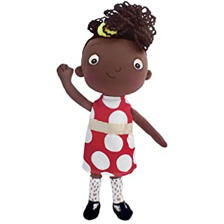 MerryMakers Ada Twist, Scientist Doll, 11-Inches