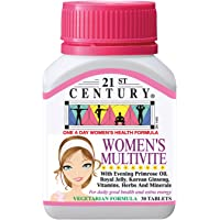 21st Century Women's MultiVite with Evening Primrose Oil, 30ct