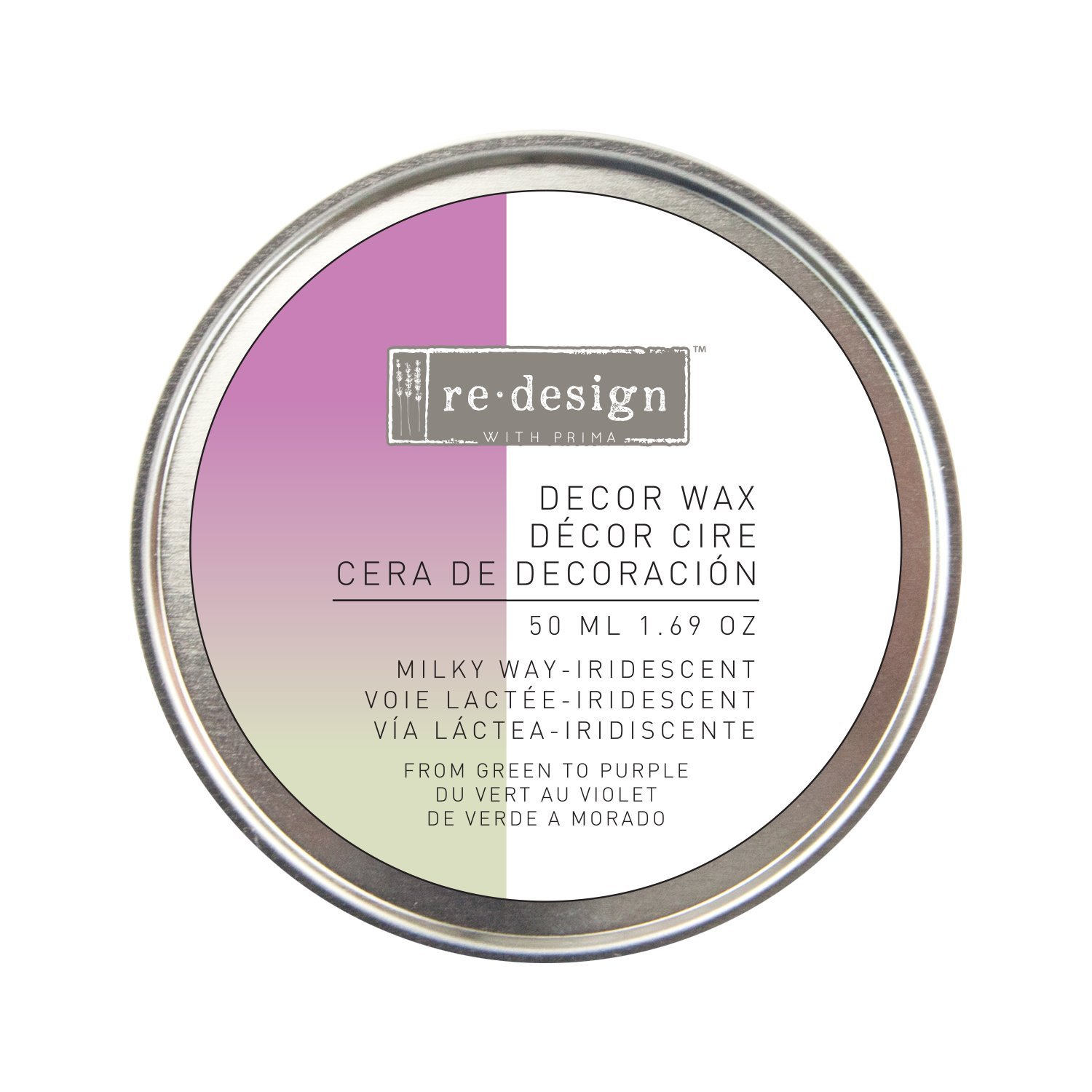 Prima Marketing Inc. 655350633424 Redesign Wax Paste, Iridescent