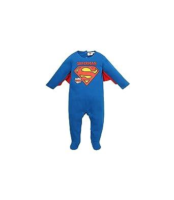 Superman Pelele bebé para Babies Boys Azul 24M: Amazon.es: Ropa y accesorios