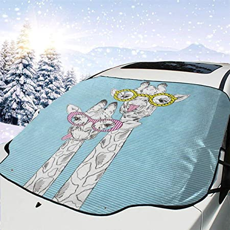 SNOW PROTECTOR COVER FOR ALL SEAT WINDOWSCREEN FOIL FROST