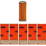 NEW OEM KTM OIL FILTERS 5 PACK 350 400 450 500 530 EXC-F SX-F XC-F XCF-W FACT. ED 2008-2018 5X 77338005100