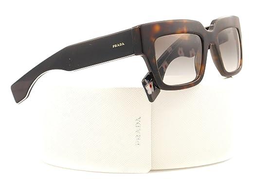 09628c8f696 Prada 28PS 2AUOA7 Tortoise Shell 28PS Poeme Square Sunglasses Lens Category  2  Prada  Amazon.co.uk  Clothing