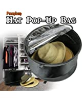 Premium Hat Pop-Up Bag [Dust Cover Organizer] Hat Stroage Travel Bag Round Hat Box