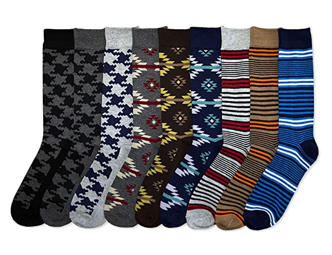 3e1b57ab477e Amazon.com: Mens Fancy Dress Socks Black 12 Pairs Size 10-13 (10-13 ...