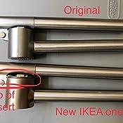Amazon.com: IKEA 000.891.63 KONCIS prensa de ajos, acero ...