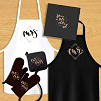 KEDRIAN Mr And Mrs Kitchen Set (5 Pieces), Couple Gifts, Wedding Gifts For Couple, Best Engagement Gifts For Couples, Mr…