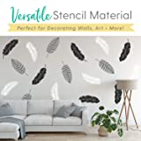 Leaf Stencil Set - Pack of 3 Unique Leaf Wall