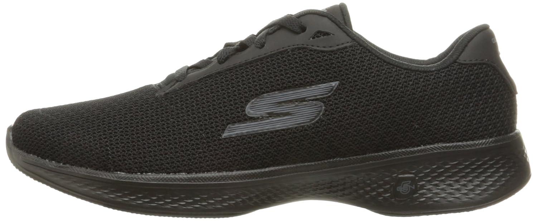 Skechers Performance Women's Go Walk 4 Lace-up Walking Shoe B01N2UYJCE 8.5 C/D US Black