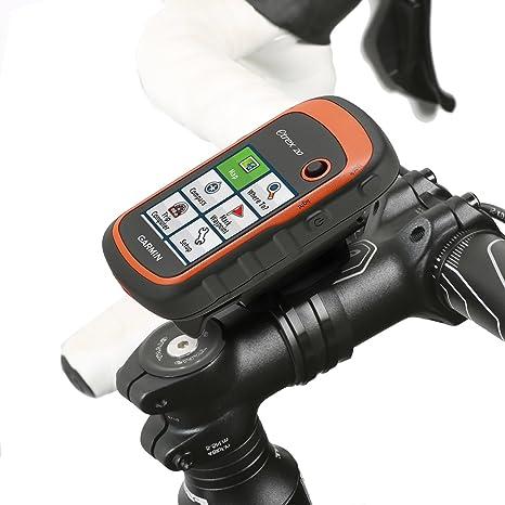 【Best Deals】OriGlam Portable Bicycle//Bike Motor Cart Mount KIT Holder Stand Handlebar GPS Mount Holder for Garmin GPSMAP 62 62S 62ST 62SC Rino 650 Garmin eTrex 10 20 30