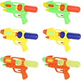 Fun-Here Water Guns 9 Inch 6 Packs for Kids Adults Multicolor Squirt Gun in Party Pool Bath Favors Indoor Outdoor Funy…