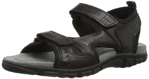 Alta qualit Sandalo GEOX STRADA Color Nero
