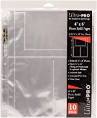 """Ultra Pro 8.5""""X11"""" Refill Pages -60 Pockets"""