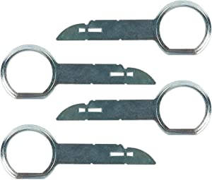 Boxiti Radio Removal Tool kit for Porsche, Volkswagen, Audi and Mercedes Vehicles (4 Keys Pack)