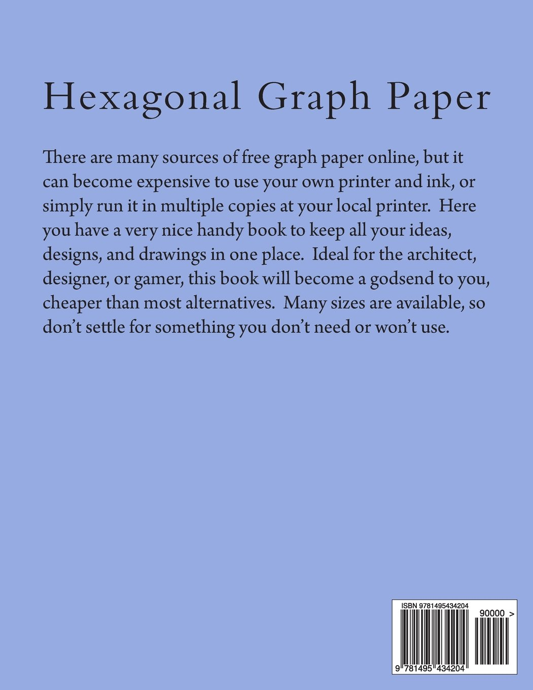Hexagonal Graph Paper: 1 inch Hexes, 100 Sheets: Paul M Fleury ...