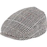 JANGOUL Kids Wool Tweed Flat Cap Herringbone Boy Girl Newsboy Caps Infant  Toddler Child Youth Beret 744ac308f4d
