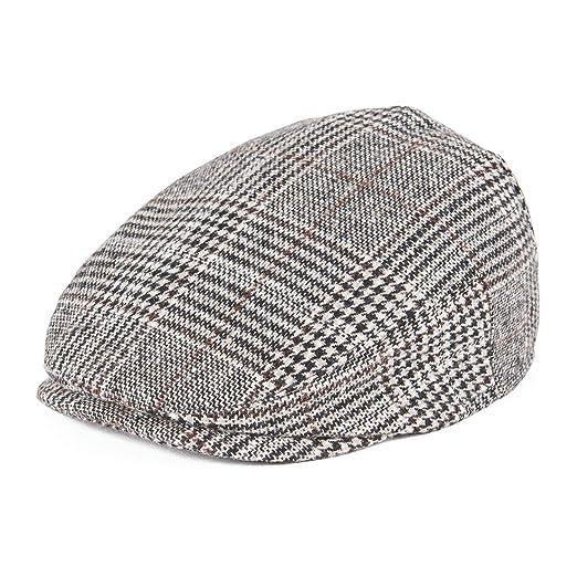 JANGOUL Kids Flat Cap Boy Girl Newsboy Caps Infant Toddler Child Youth  Beret Hat Ivy Gatsby f09da1a100c