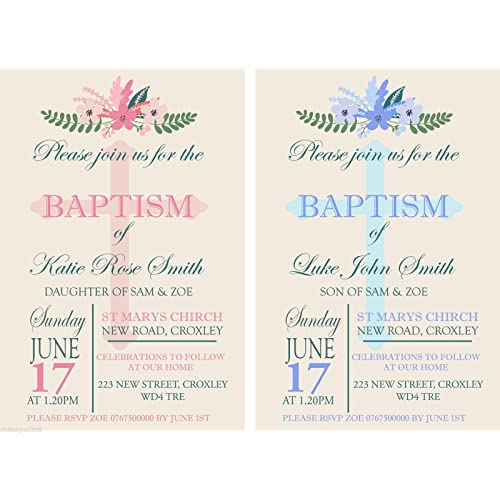baptism invitation amazon co uk