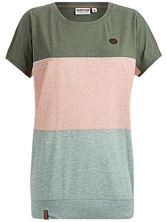 Naketano Damen T-Shirt Rücken Schmücken T-Shirt  Amazon.de  Bekleidung 839feee764
