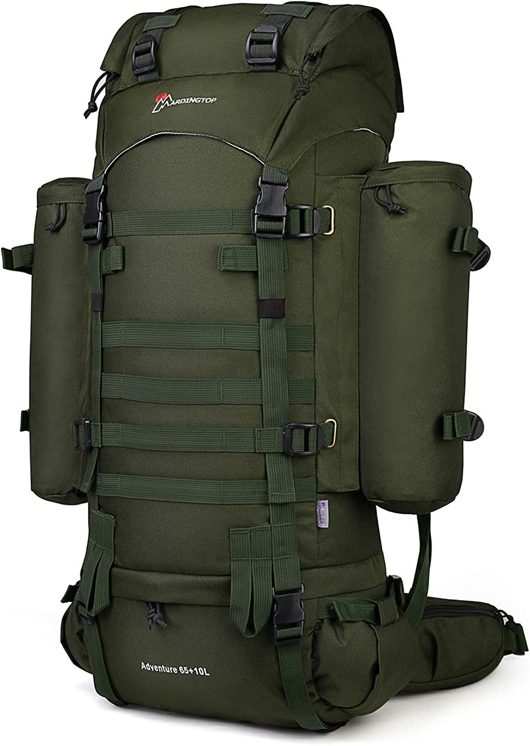 Mardingtop 65 10L 65L Molle Hiking Internal Frame Backpack