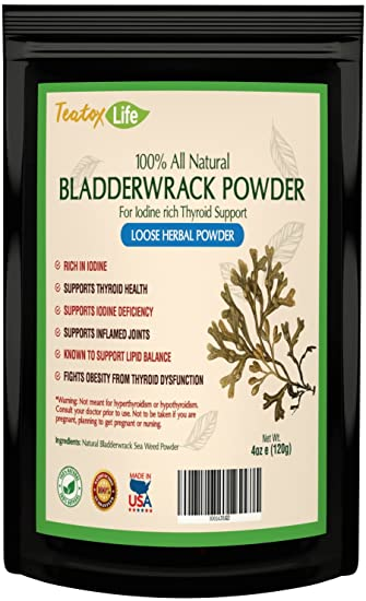 Amazon Com Bladderwrack Sea Moss Powder Supplement Seaweed Kelp