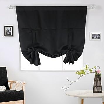 Exellent Blackout Curtains Bedroom Pocket Tie Up For In Design Decorating