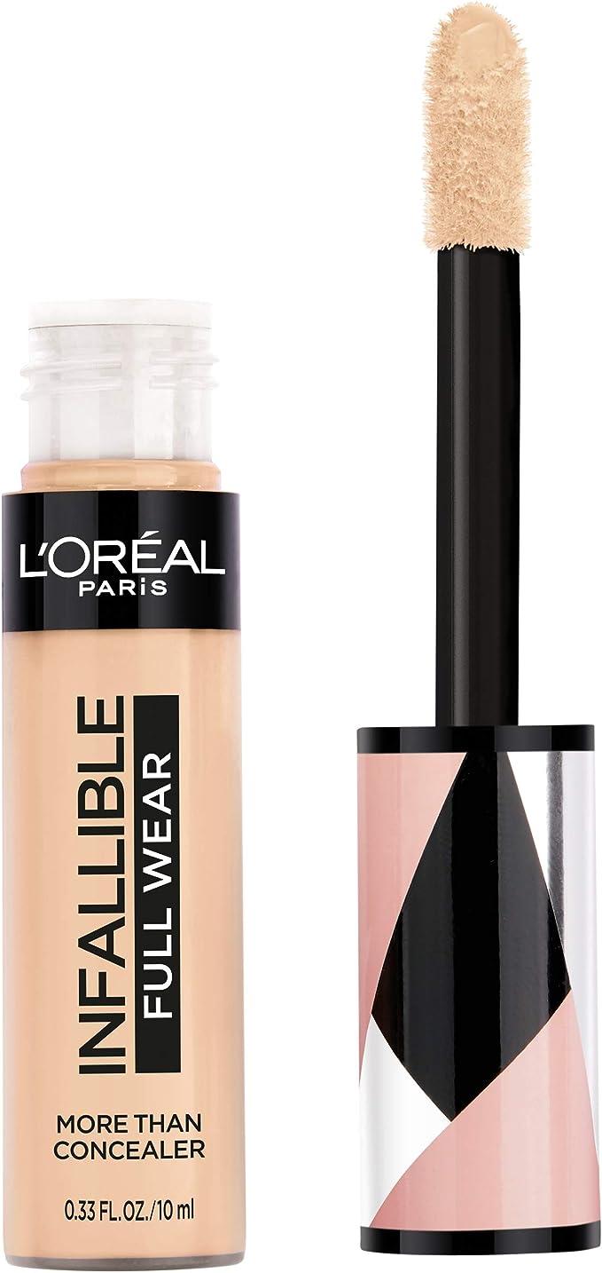 L'oreal Paris Cosmetics Infallible Corrector de uso completo, impermeable, cobertura completa, vainilla, 0.33 onzas líquidas, Cachemir, 0.33 Fluid Ounce: Amazon.com.mx: Salud y Cuidado Personal
