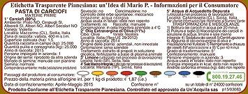 Alcachofas pasta 190 g – etiqueta transparente pianesiana: Una ...