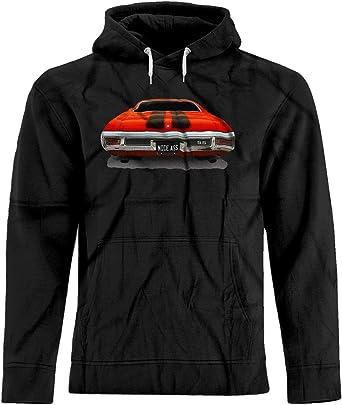 8d8c79cf BSW Men's Nice Ass 1970 Chevrolet Chevelle SS Muscle Premium Hoodie XS Black